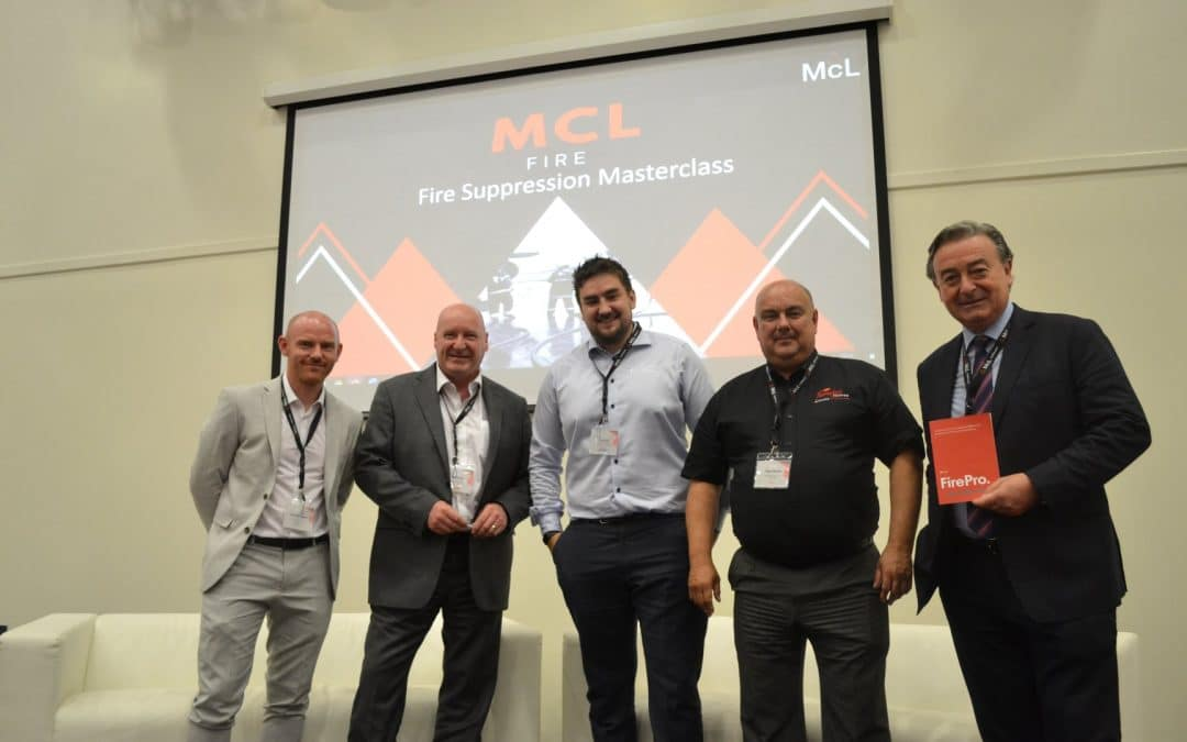 The McL Fire Suppression Masterclass