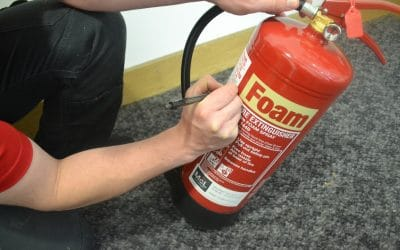 A Day In The Life Of An MCL Fire Extinguisher Engineer