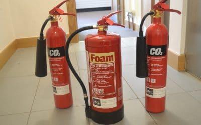 #FridayFocus CO2 Fire Extinguishers